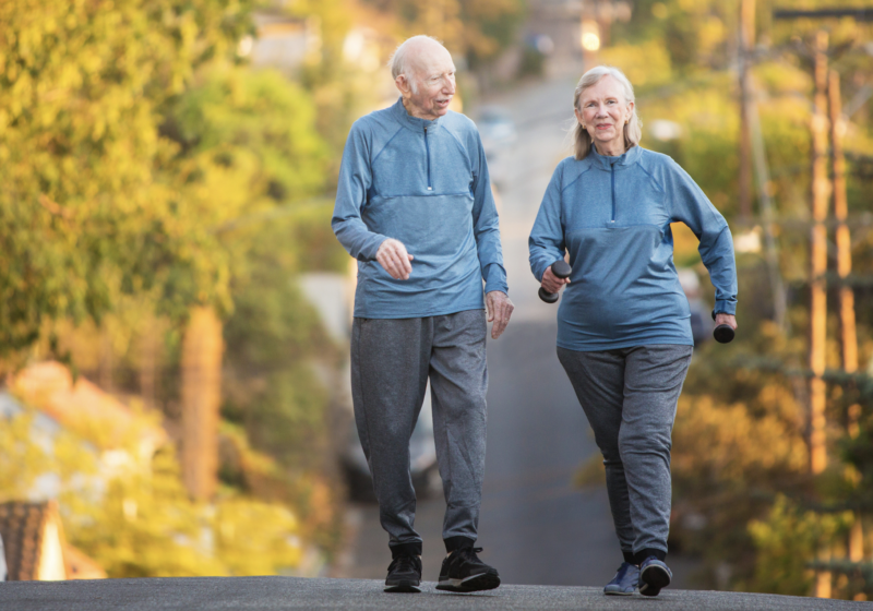 The potential to maximise health and fitness: Age is not a limitation