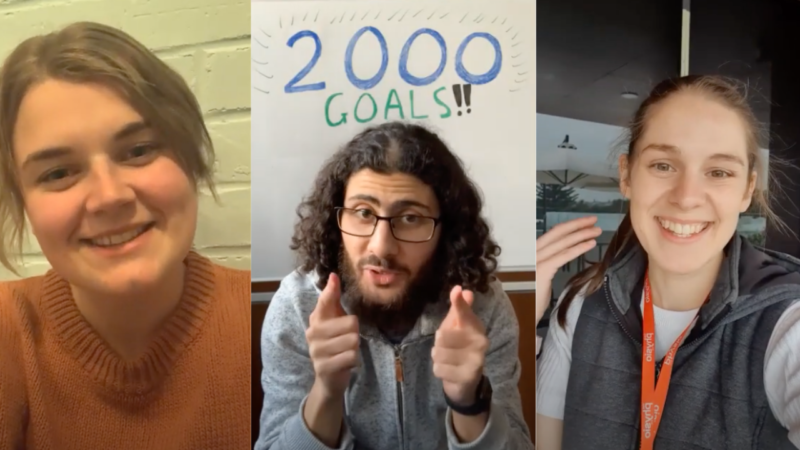 Thank you – 2000 goals smashed by Aussie seniors!